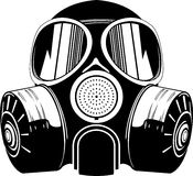 Gás mask Imagem de Stock Royalty Free