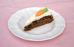 Gâteau à la carotte Photos stock