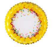 Gâteau 2 de réception Photographie stock libre de droits