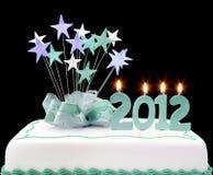 Gâteau 2012 Images libres de droits