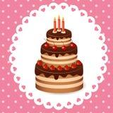 Gâteau Photo stock