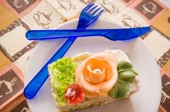 Gâteau. Image libre de droits