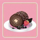 Gâteau illustration stock