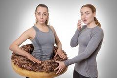 Gâteau allant sur mes hanches Images stock