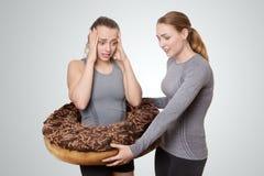 Gâteau allant sur mes hanches Photographie stock