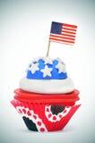 Gâteau américain Photographie stock
