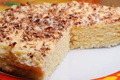 Gâteau appétissant de gaufre Photos libres de droits