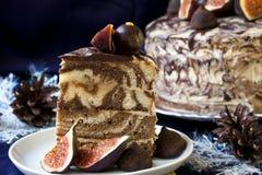 Gâteau au café illustration stock