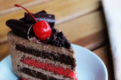 Gâteau au café Photographie stock