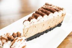 Gâteau au café image stock