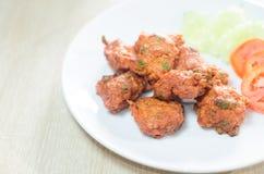 Gâteau au curry de porc Photos libres de droits