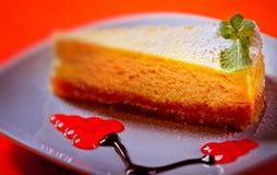 Gâteau au fromage Image libre de droits