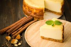 Gâteau au fromage Photographie stock libre de droits