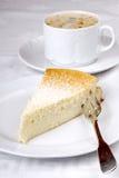 Gâteau au fromage allemand Photographie stock libre de droits
