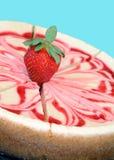 Gâteau au fromage délicieux Images libres de droits