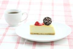 Gâteau au fromage de cerise Image stock