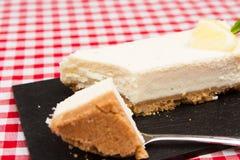 Gâteau au fromage de citron Image stock