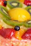 Gâteau au fromage de fruit photographie stock
