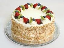 Gâteau au fromage de fruit Images libres de droits