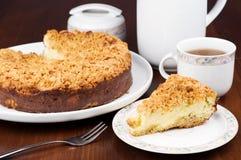 Gâteau au fromage de maison Photos libres de droits