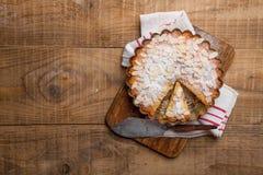 Gâteau au fromage de Ricotta Image stock
