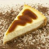 Gâteau au fromage de vanille Photo libre de droits