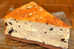 Gâteau au fromage fait maison Images stock