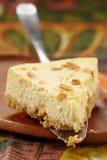 Gâteau au fromage frais images libres de droits