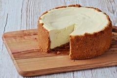 Gâteau au fromage New York Photos stock