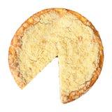 Gâteau au fromage sans morceau Image libre de droits