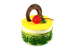 Gâteau au goût âpre photo libre de droits