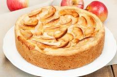 Gâteau aux pommes Image libre de droits
