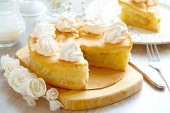 Gâteau aux pommes Photos libres de droits