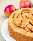 Gâteau aux pommes Photographie stock