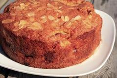 Gâteau aux pommes de Dorset Photos libres de droits