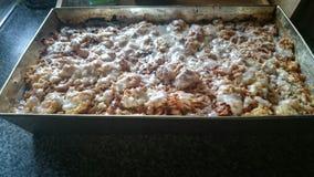 Gâteau aux pommes fait maison Photo libre de droits