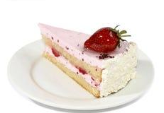 Gâteau avec de la crème Image libre de droits