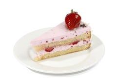 Gâteau avec de la crème Images stock