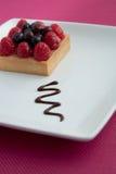 Gâteau avec des baies Photographie stock libre de droits