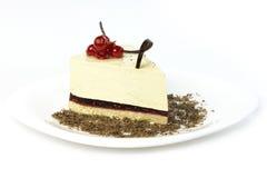 Gâteau avec des baies Images libres de droits
