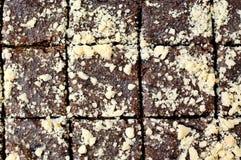 Gâteau avec des clous de girofle Images libres de droits