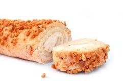 Gâteau avec des noix Photo libre de droits