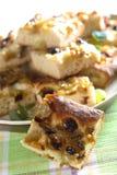 Gâteau avec des raisins Photos libres de droits