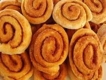 Gâteau avec la spirale photographie stock libre de droits