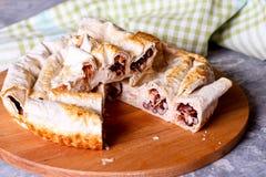 Gâteau avec le haricot rouge Photo stock