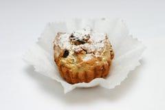 Gâteau avec le raisin sec Image libre de droits