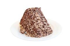 Gâteau avec raser de noix de coco Image stock