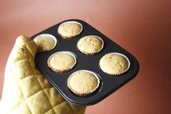 Gâteau chaud et frais Images libres de droits