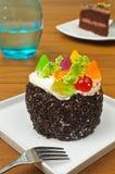 Gâteau coloré photographie stock libre de droits