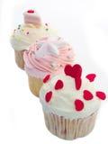 Gâteau coloré de cuvette Images libres de droits